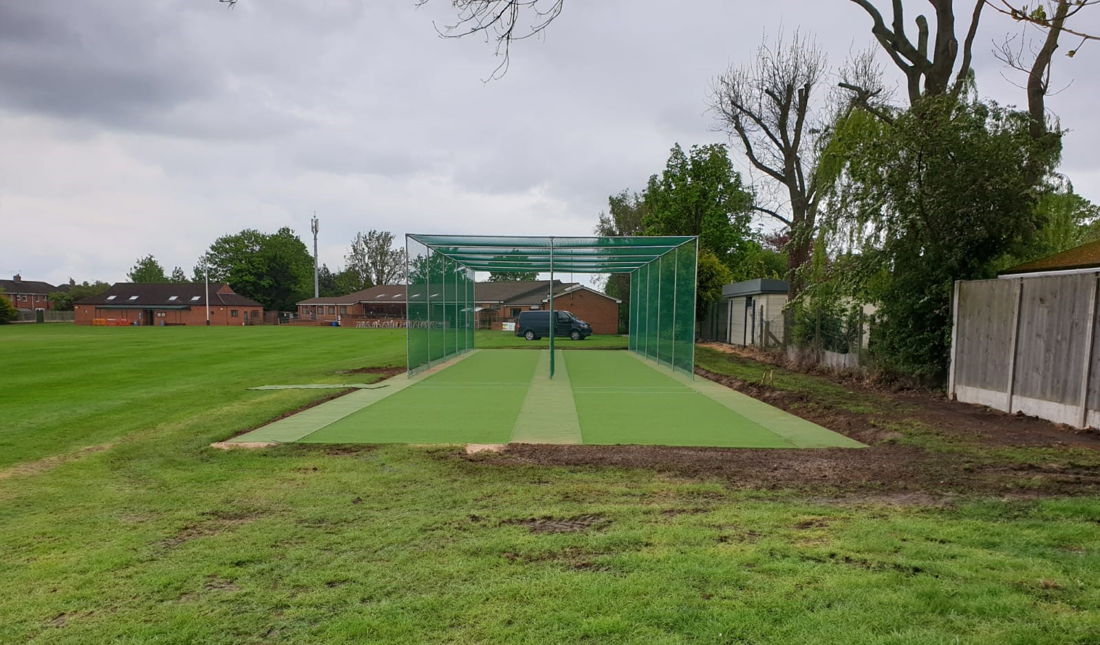 COMPLETED WORKS AT SCUNTHORPE CC