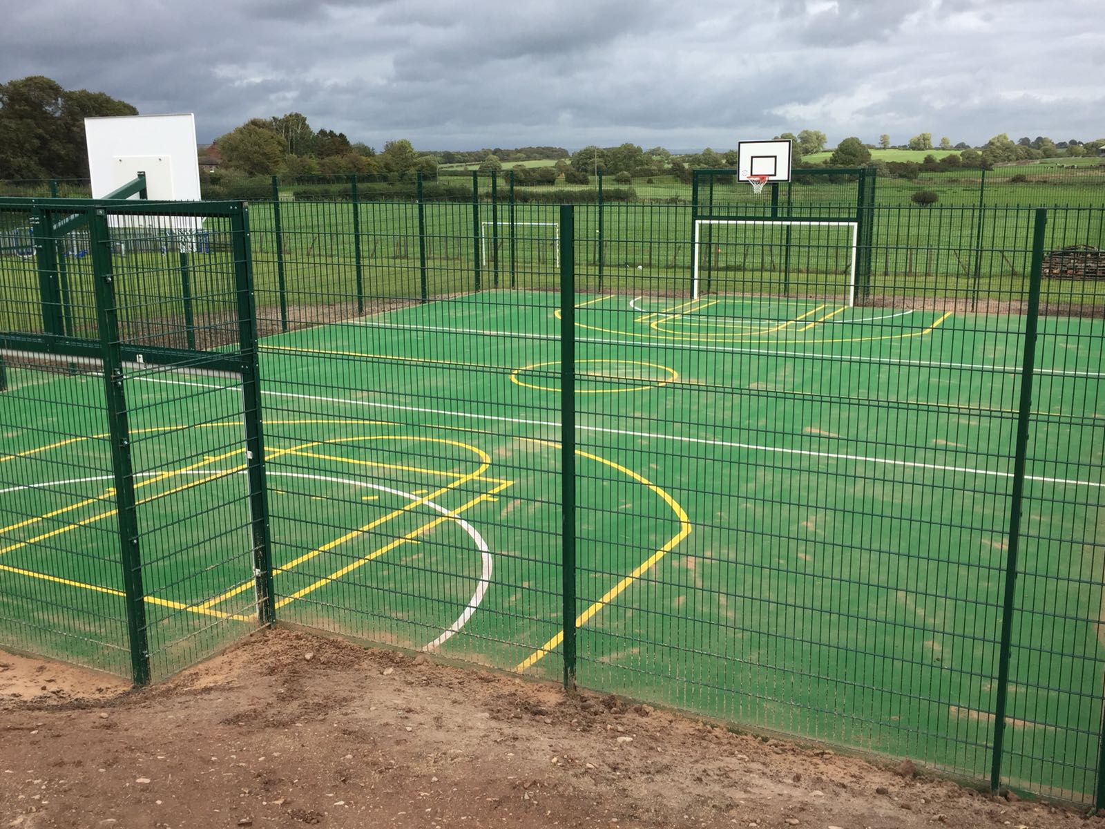 Play surfacing fitted by Bingham Ground Services
