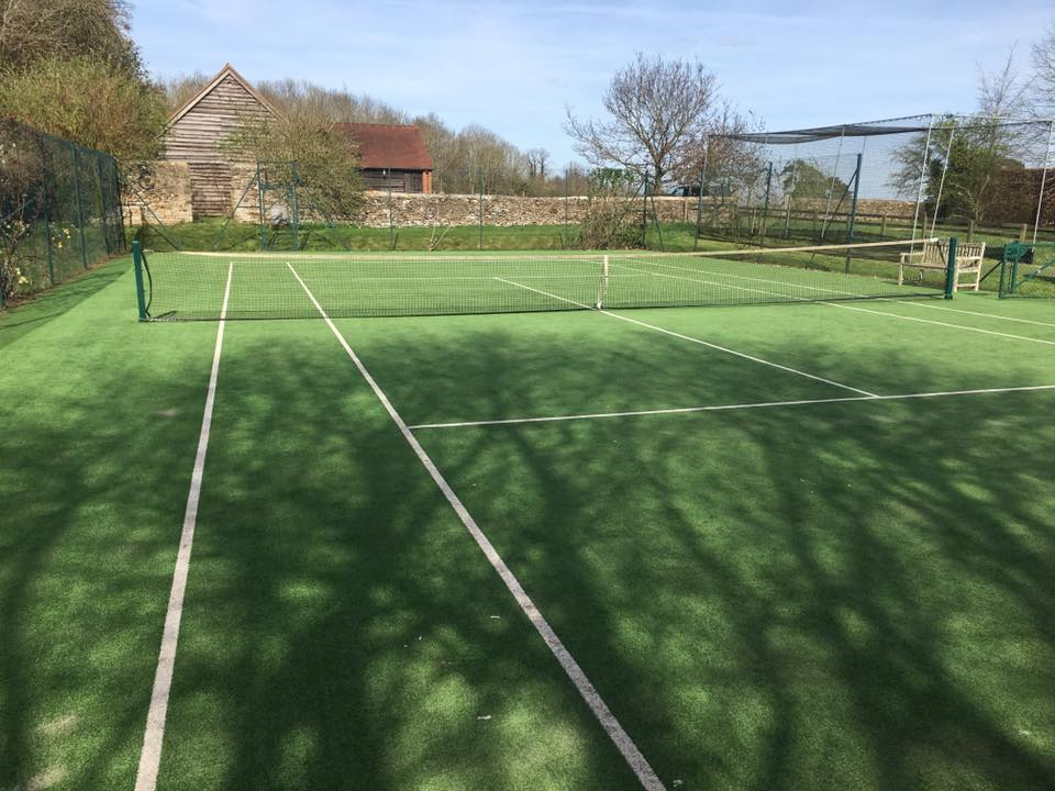 Tennis Courts from Bingham Ground Services